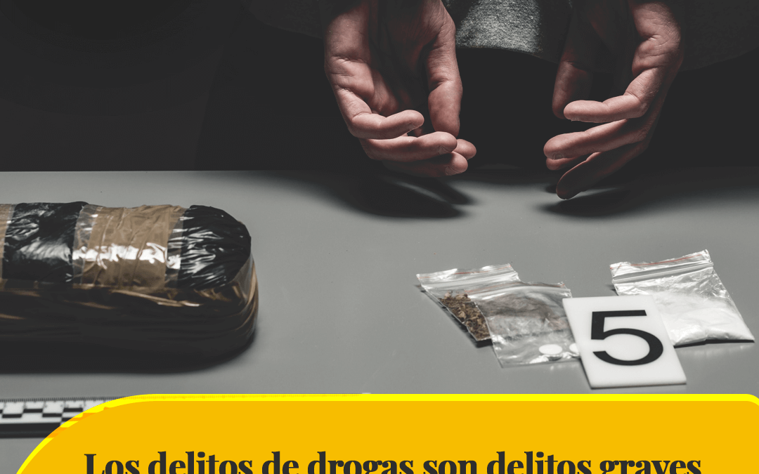 Drug offenses are serious crimes in California, here are the strict penalties for convictions
