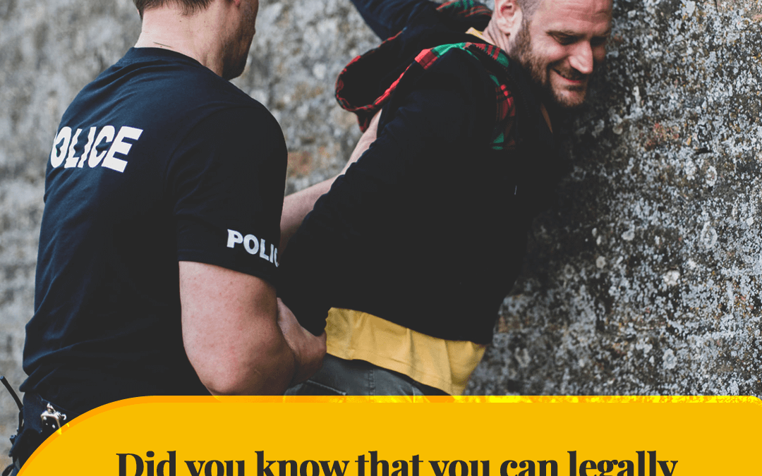 Did you know that you can legally resist unlawful arrest with reasonable force? But it depends on which state